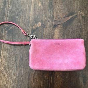Coach Authentic Vintage Wristlet Bag